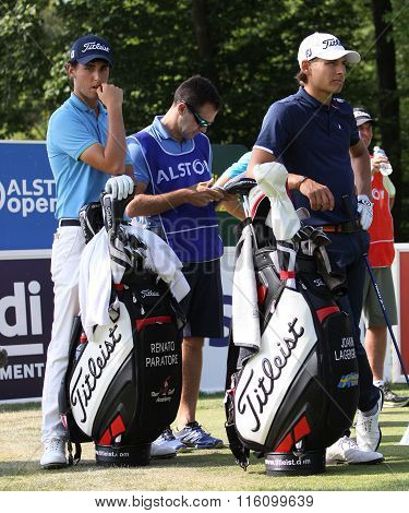 Renato Paratore At The Golf French Open 2015