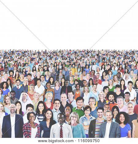 Diverse Diversity Multiethnic Cheerful Variation Concept