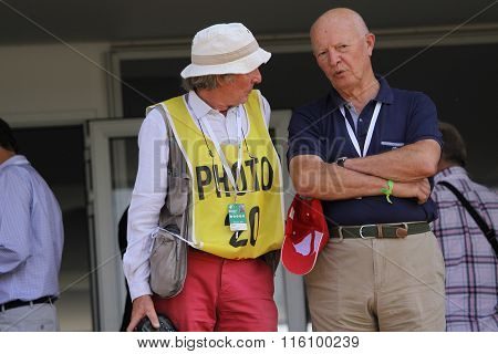 Photographer At The Golf French Open 2015