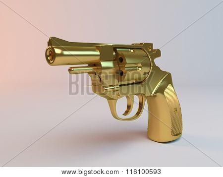 3D golden gun