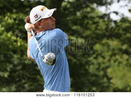 Marcel Siem At The Golf French Open 2015