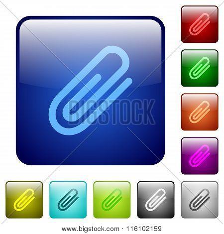 Color Attachment Square Buttons