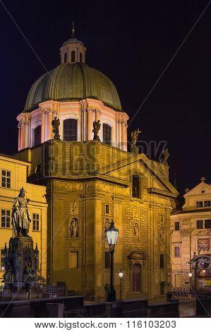 Church Of St Francis Seraph, Prague