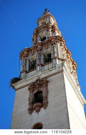 St Giles church tower, Ecija.