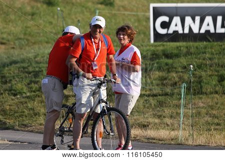 Volunteers At The Golf French Open 2015