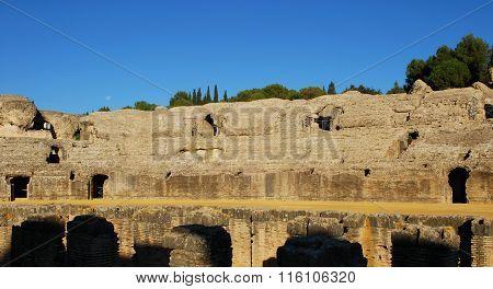 Roman Amphitheatre, Italica.