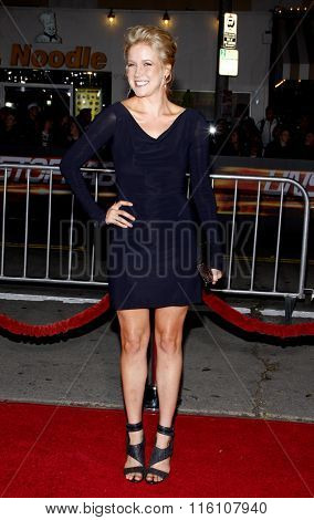 WESTWOOD, CALIFORNIA - October 26, 2010. Jessy Schram at the Los Angeles premiere of