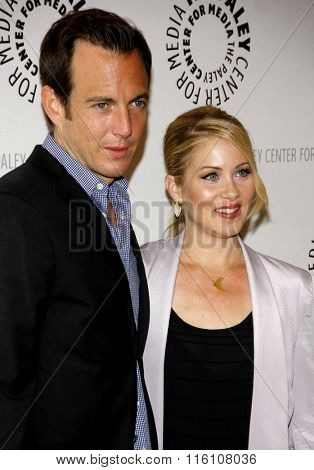 Christina Applegate and Will Arnett at the Paley Center For Media Presents An Evening With