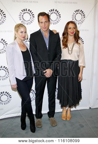 Will Arnett, Christina Applegate and Maya Rudolph at the Paley Center For Media Presents An Evening With