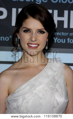WESTWOOD, CALIFORNIA - November 30, 2009. Anna Kendrick at the Los Angeles premiere of