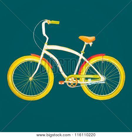 Retro Bicycle.