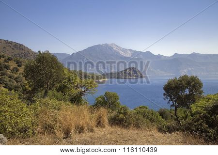 Scenic bay near Marmaris, Turkey