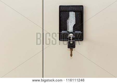 Black Locker Key