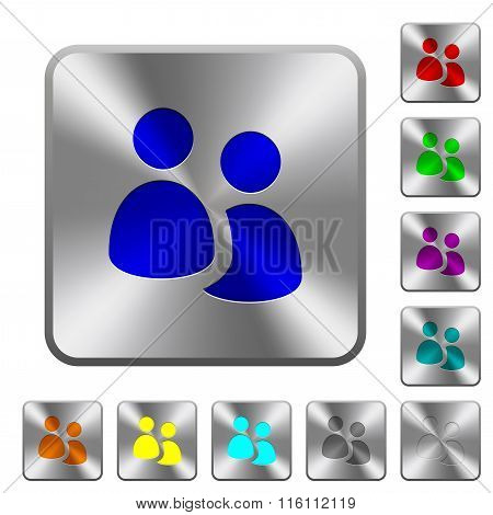 Steel User Group Buttons