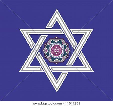 Jewish Star Design