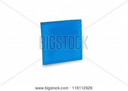 pack condom isolated
