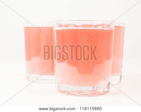 Pink Grapefruit Saft Vintage