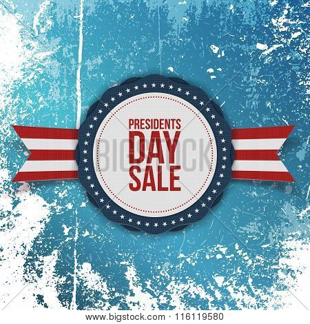 Presidents Day Sale american Holiday Banner