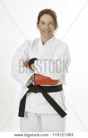 Martial Art Artist Woman