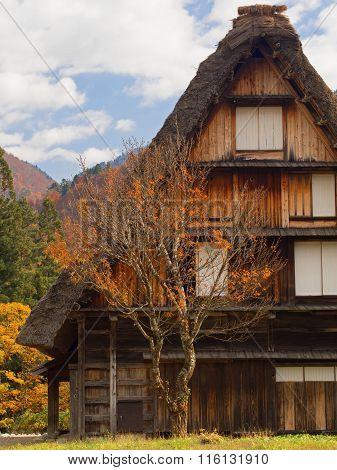 Farmhouse At Shirakawago