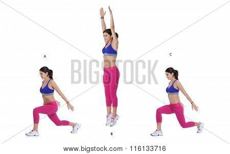 Split Lunge Jump