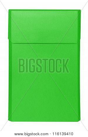 Cigarettes Box - Closed - Green