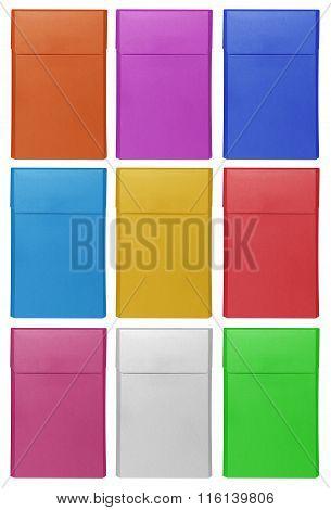 Cigarettes Box - Closed - Colorful