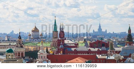 Moscow. View from above