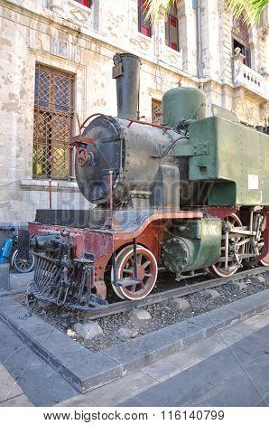 Hejaz Train Station in Damascus,