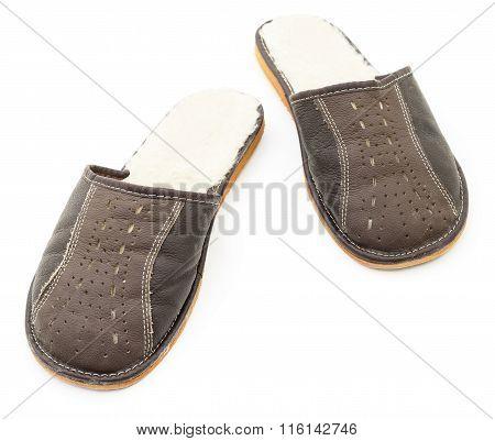House Men's Slippers.