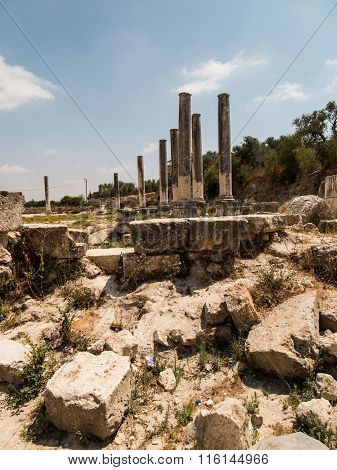 Sebastia, Ancient Israel, Ruins And Excavations