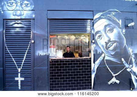Graffiti in Brixton