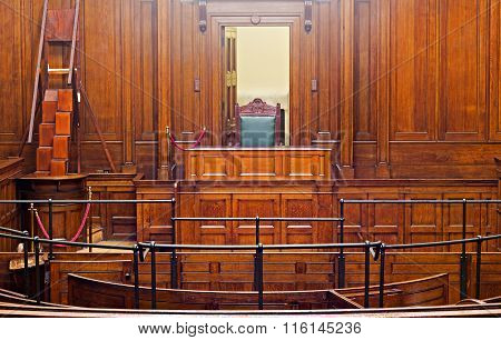 Crown Court Room Dating From 1854