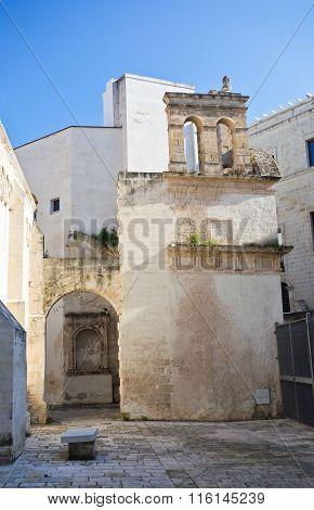 Church of St. Giuseppe. Monopoli. Puglia. Italy.