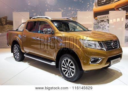 New 2016 Nissan Navara Np300