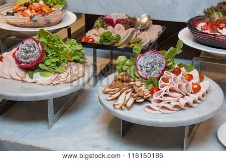 Plate Of Cold Cuts