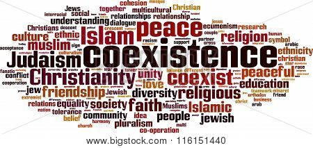 Coexistence Word Cloud