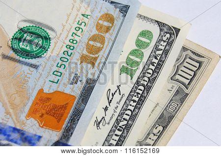Histoy of 100 Dollar Bills