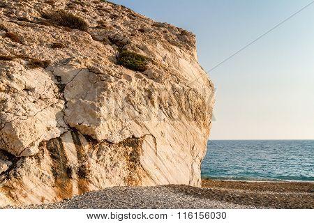 Petra Tou Romiou Or Aphrodite's Rock, Cyprus