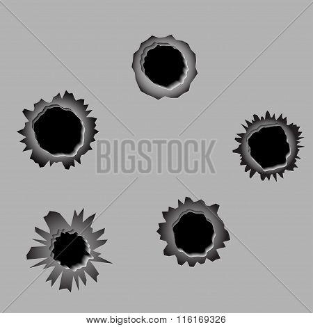 Bullet Holes Et