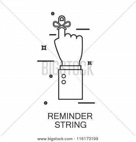 Reminder String. Line Style