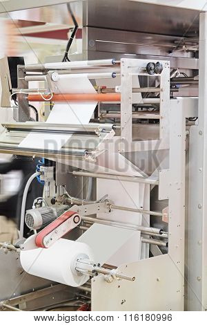 Part of an industrial packing machine