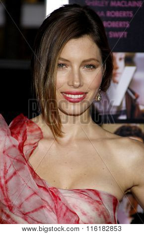 Jessica Biel at the World Premiere of