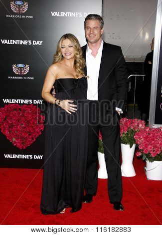 Eric Dane and Rebecca Gayheart at the World Premiere of