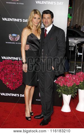 Patrick Dempsey and Jillian Fink at the World Premiere of