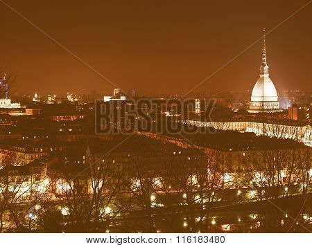 Turin View Vintage