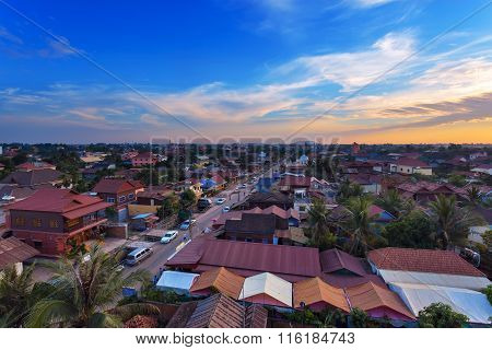 Muslim District Of Siem Reap City, Cambodia