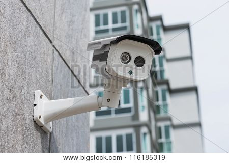 Dirty Cctv Security Camera