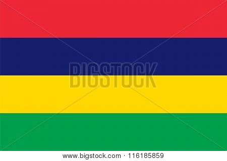 Standard Proportions For Mauritius Flag