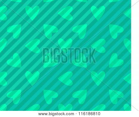 Seamless Hearts Patterns